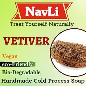 Vetiver Soap, NavLi Naturals