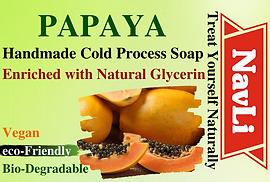 Papaya Soap, NavLi Naturals