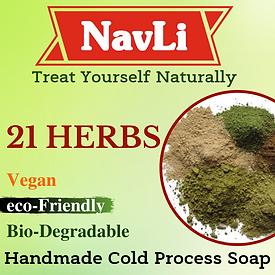 21 Herbs Soap, NavLi Naturals