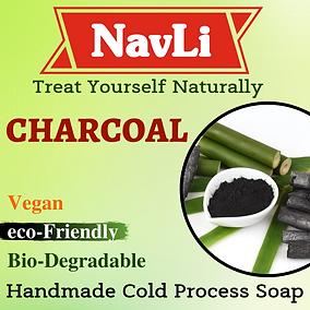 Charcoal Soap, NavLi Naturals