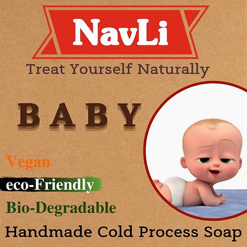 Baby Soap, NavLi Naturals