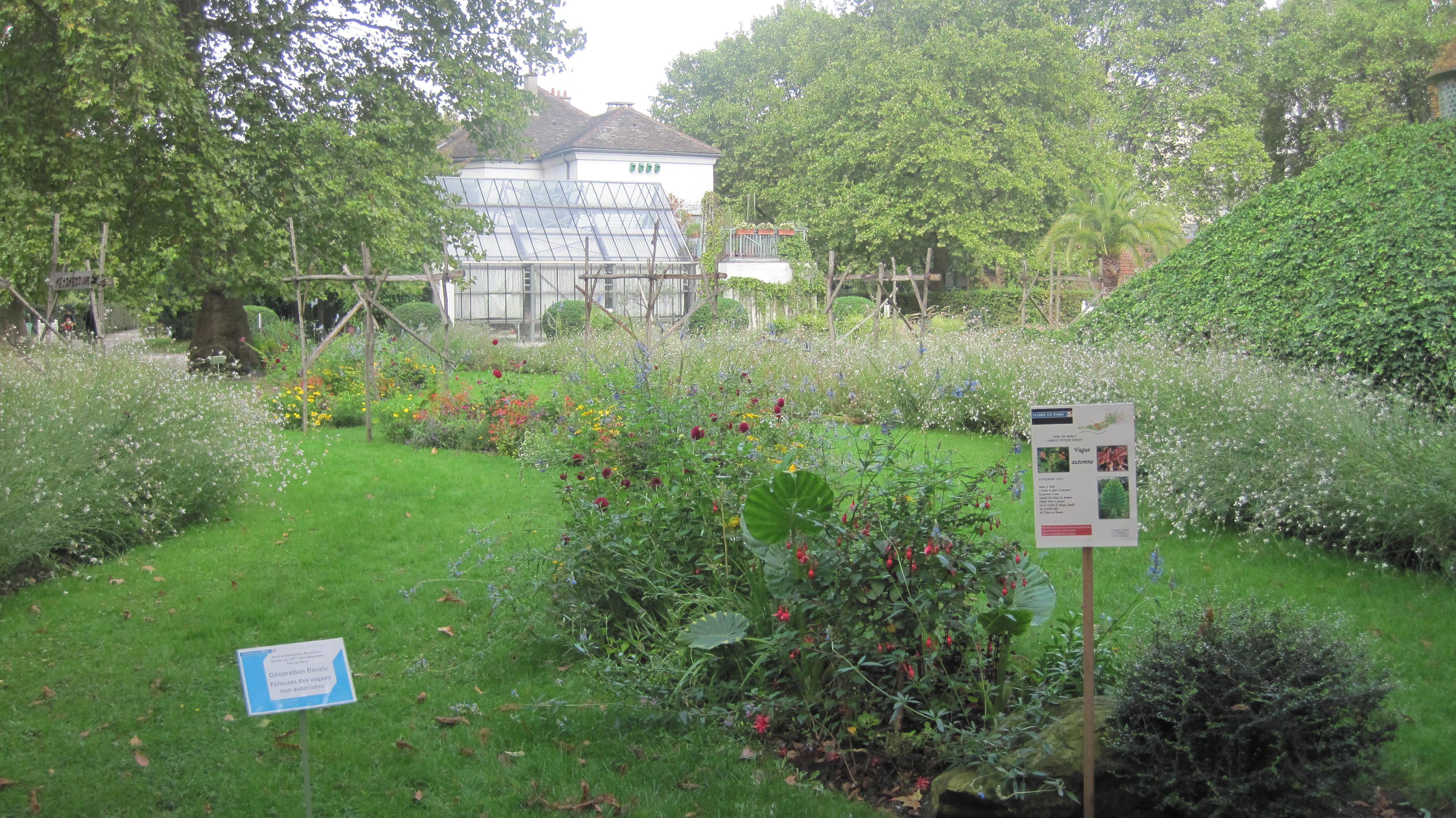 Bercy garden