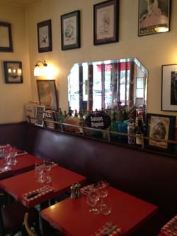 Wine bar tables