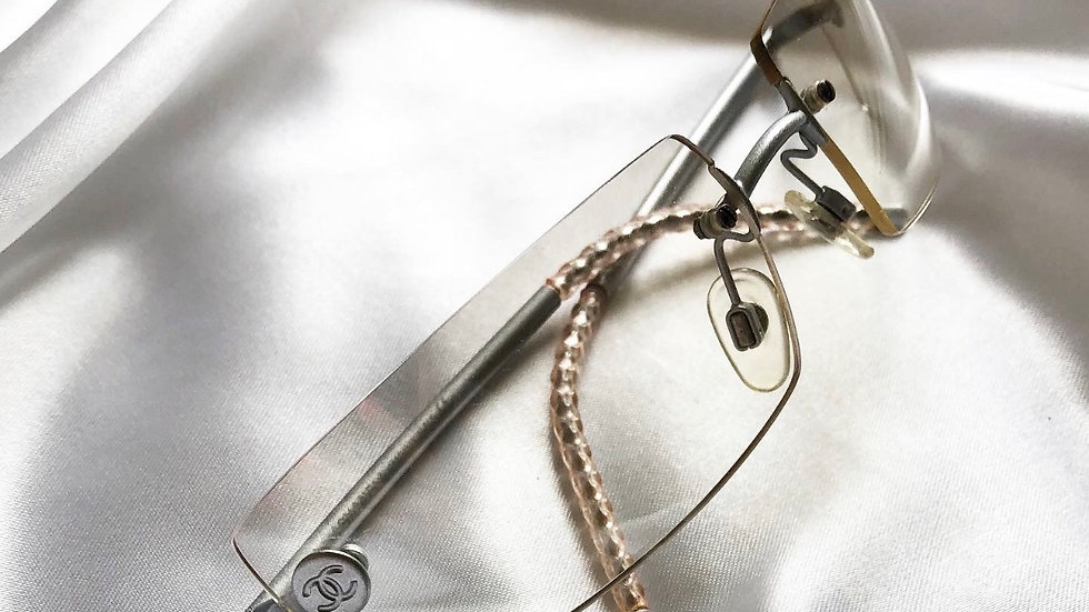 Chanel Clear rimless