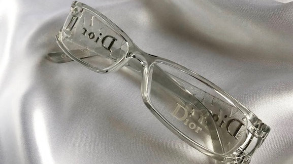 Dior Transparent Glasses