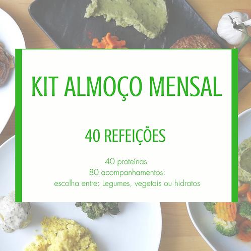Kit 40 refeições