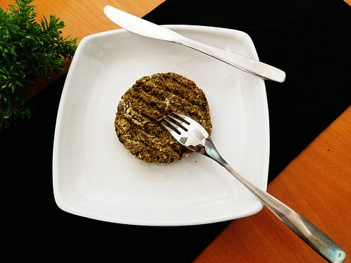 Hambúrguer de cogumelos