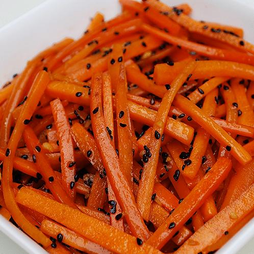 Cenoura com sésamo