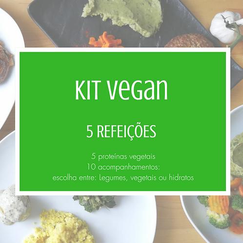 Kit 5 Refeições Veganas