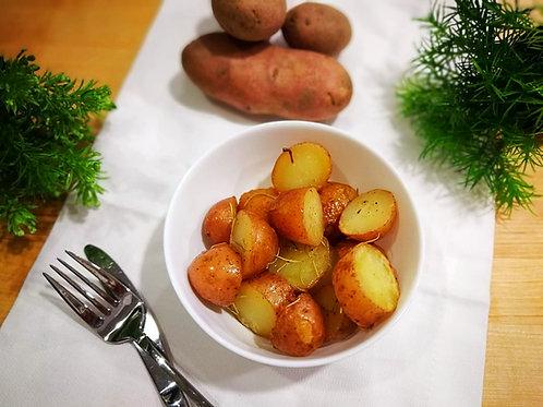 Batata assada com alecrim