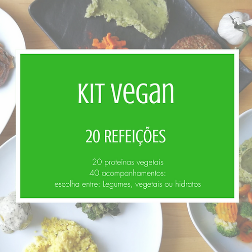 Kit 20 Refeições Veganas