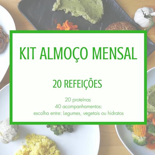 Kit Mensal - 20 refeições