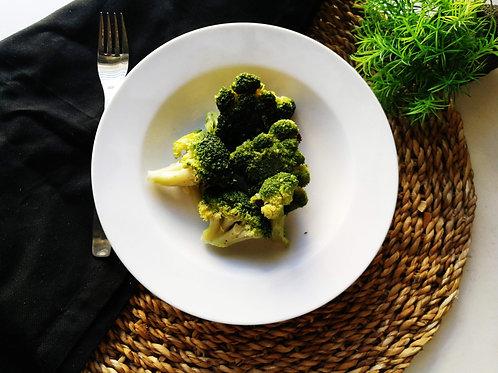 Brócolos assados