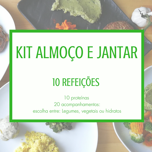 Kit 10 Almoço e Jantar