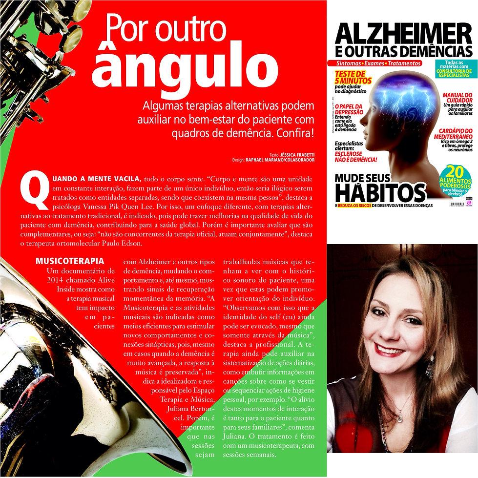 Musicoterapia, alzheimer, demência, juliana bertoncel