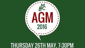 AGM 2016 - SAVE THE DATE!