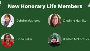 New Honorary Life Members