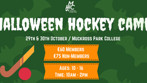 Junior Halloween hockey Camp