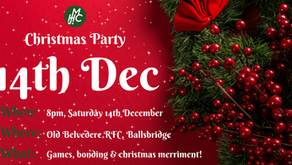 Christmas Party:- Dec 14th!