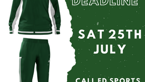 Club tracksuit pre-order