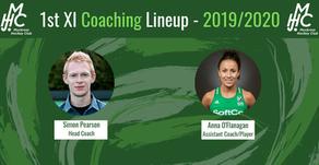 19-20 1st XI Coaching Lineup announcement