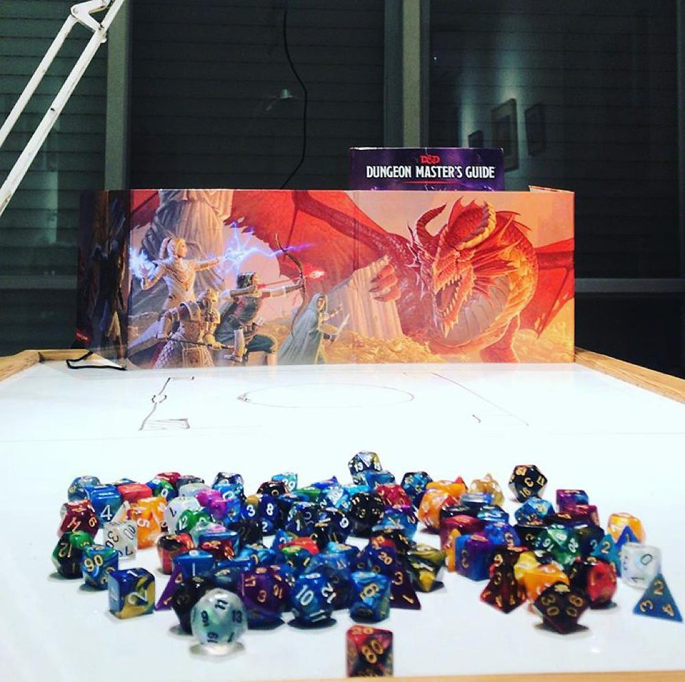 My tabletop RPG: Dungeons & Dragons
