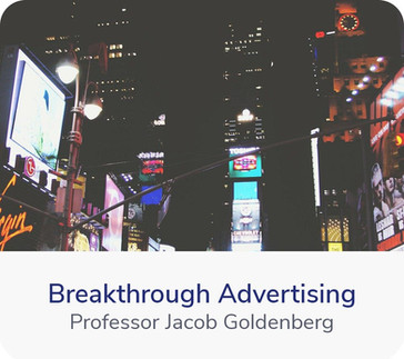 Welcome to the world of advertising. It's through advertising that you communicate with your customers, and tell your product story. It's not easy. Advertisements have to be able to breakthrough the noise...