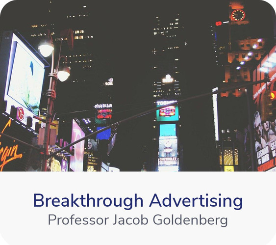 Welcome to the world of advertising. It's through advertising that you communicate with your customers, and tell your product story. It's not easy. Advertisements have to...