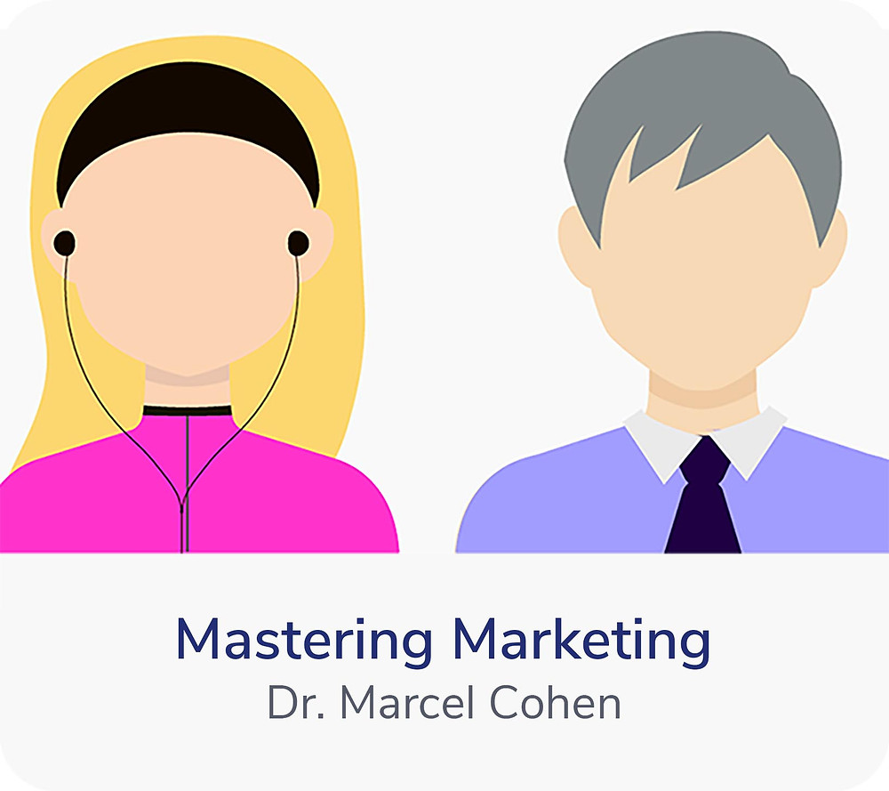 How to learn marketing quickly? By taking audio courses. Start out with Mastering Marketing