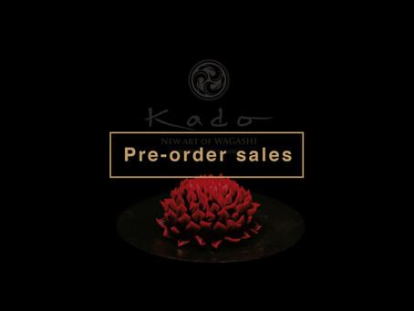 'KADO -New Art of Wagashi- will be launched 28 Jan.