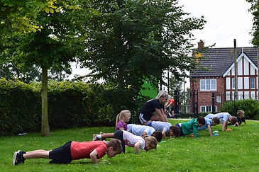 kids bootcamps manchester
