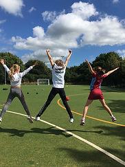 school fitness classes manchester
