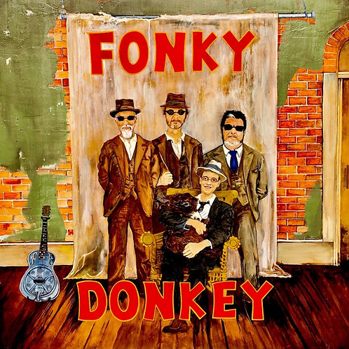 "FONKY DONKEY ""The Saboteur"" DOWNLOAD ONLY"