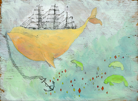 Whale and Manatees