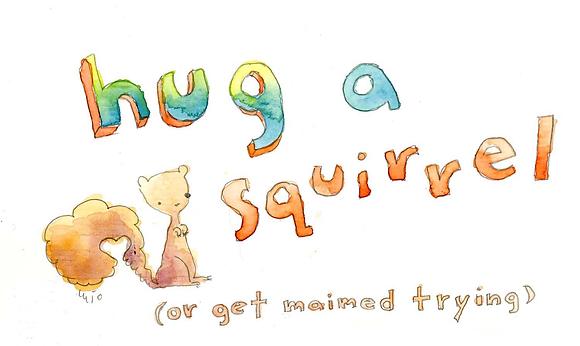 Hug a Squirrel
