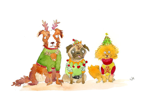 Dog Christmas Sweaters
