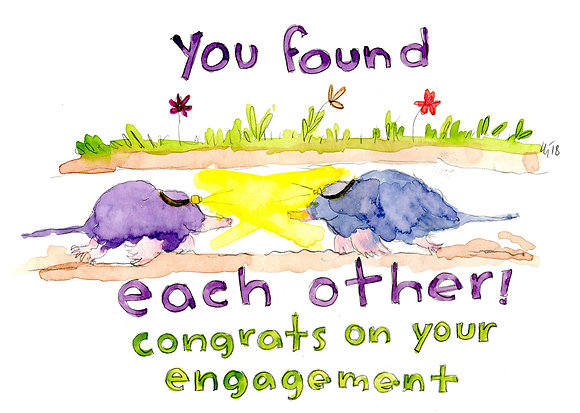 You Found Each Other Engagement