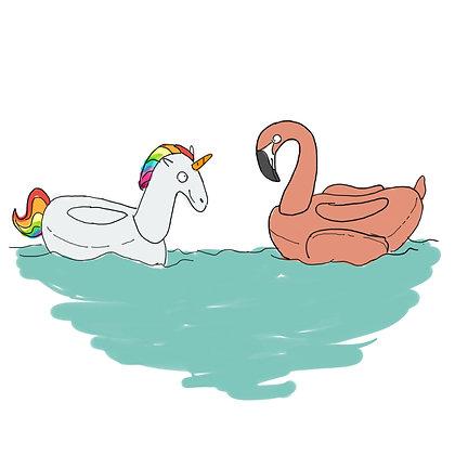 Floatie Love