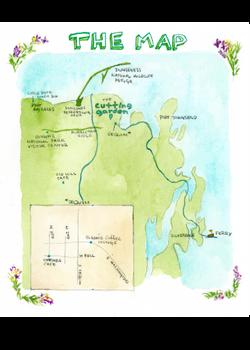 Seaside Wedding Map