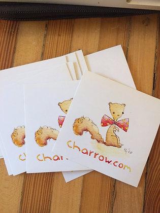charrow squirrel sticker