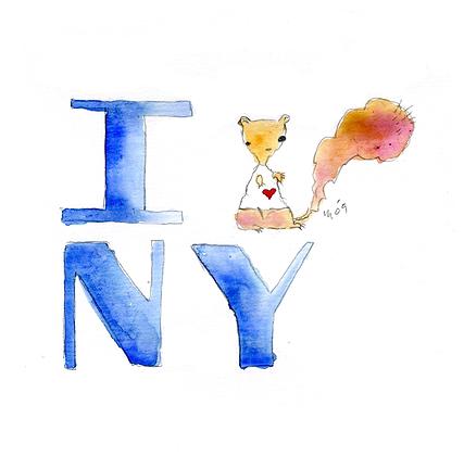 I Squirrel NY