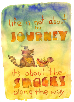 Its Not About The Journey