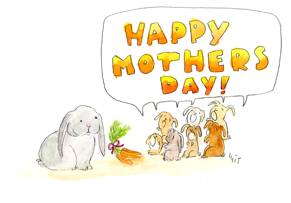 Happy Mothers Day Bunny