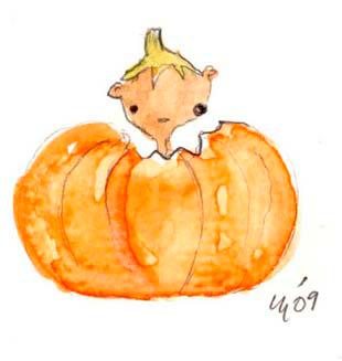 Squirrel Halloween (5 pack)