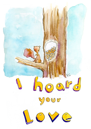 I Hoard Your Love
