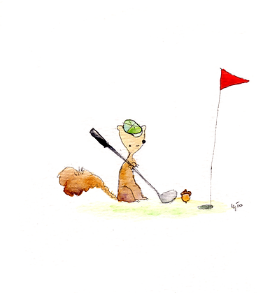 Golf Squirrel