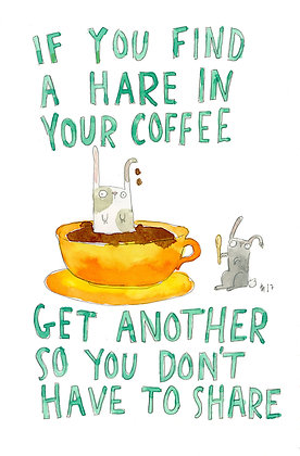 hare in your coffee