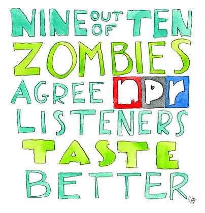 Nine Out Of Ten Zombies Agree NPR Listeners Taste