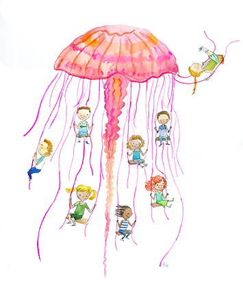 Jellyfish swing