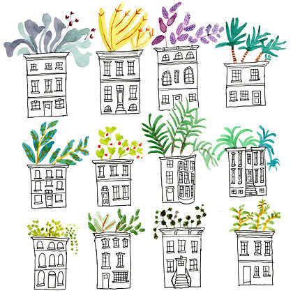 Row House Garden
